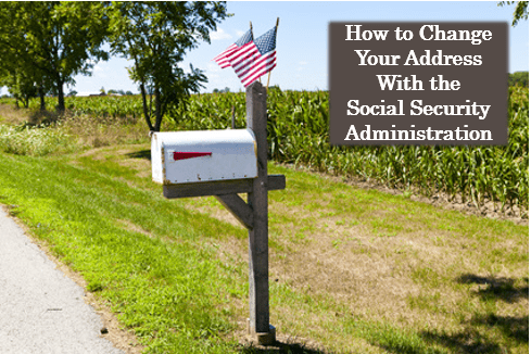 social security address change