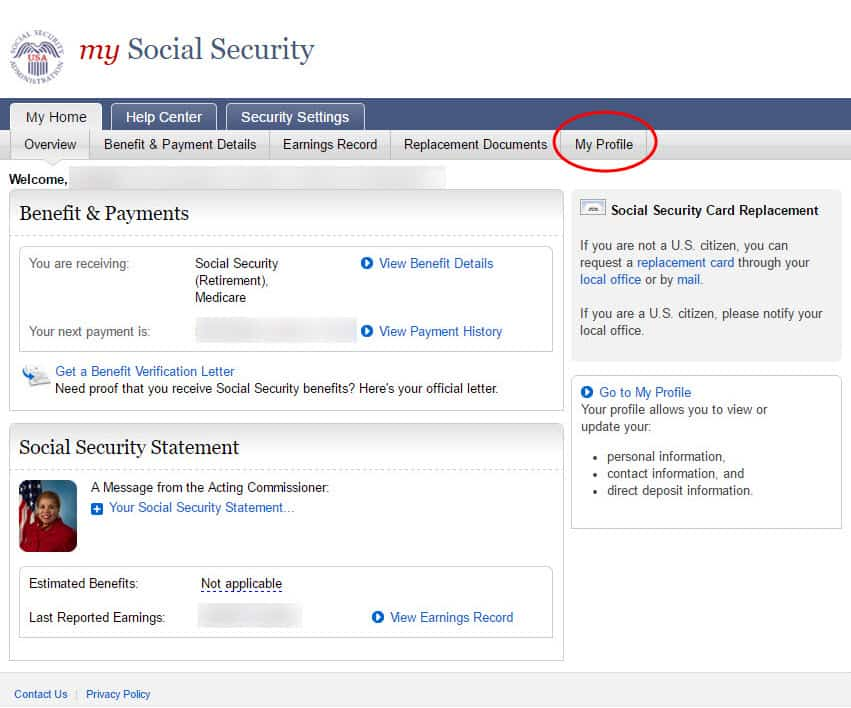 Social Security Change Of Address | Social Security Change Of Address How To Guide