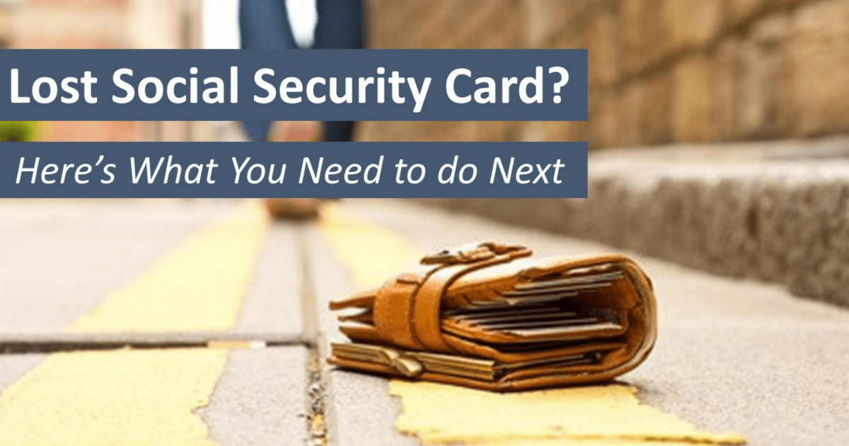 Lost Social Security Card Here S What You Need To Know Social Security Intelligence
