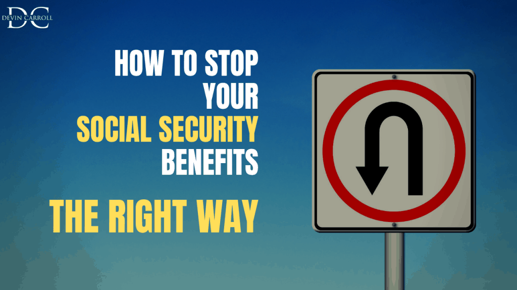 how to stop your social security benefit