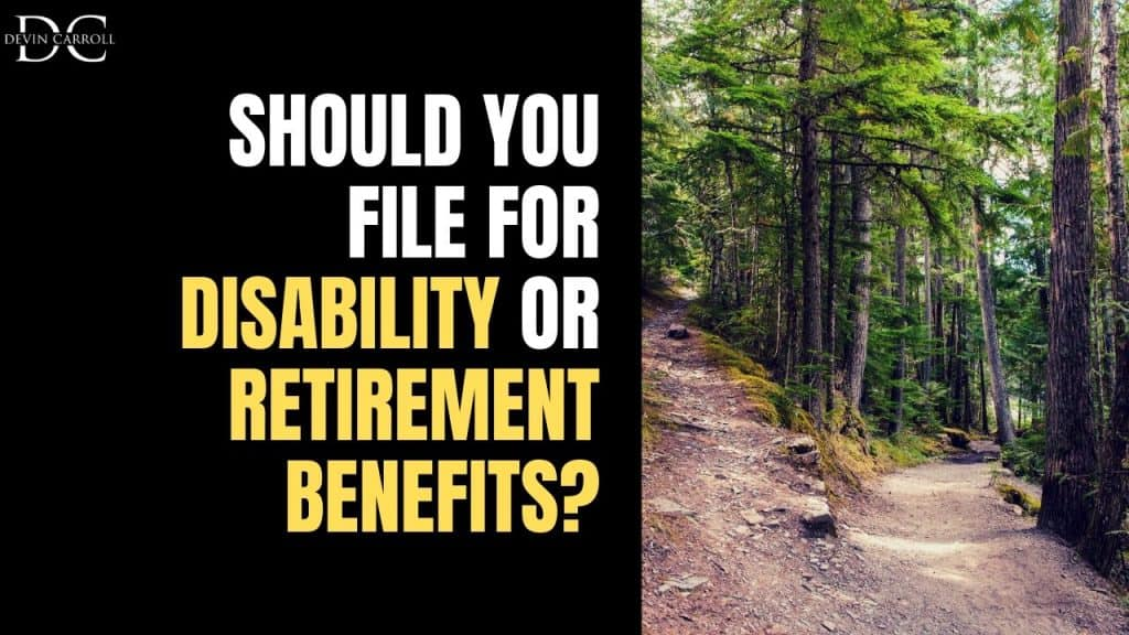 the choice of filing for ssdi can be difficult