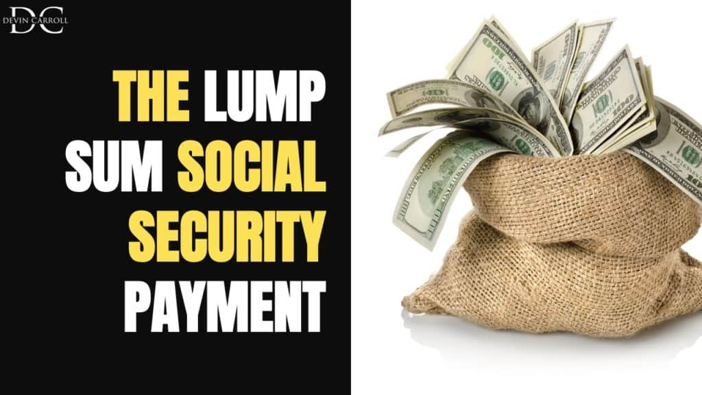 retroactive social security benefits